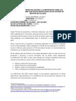 AUDITORÍAS INTERNAS DE CALIDAD Y LA IMPORTANCIA PARA LAS PYMES EN COLOMBIA QUE ESTÁN CERTIFICADAS EN UN SISTEMA DE GESTIÓN DE CALIDAD.docx