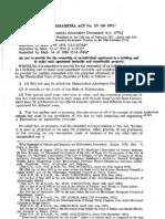 Maharashtra Apartment ownership act 1971.15