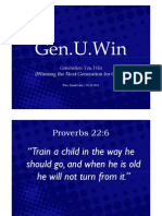 Gen.U.Win (Winning the Next Generation for Christ)