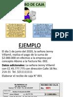 RECIBO DE CAJA Semana Dos