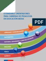 MINEDUC. Estándares para carreras de pedagogía en Lenguaje y Comunicación