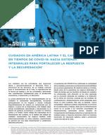 UN Policy Brief Cuidados Espanolv 190829