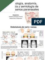 1.Embriologia senoos