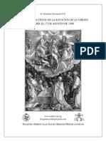 Sermon de la Asuncion, Savonarola - (Edad moderna)