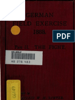 German Field Exercized 1888 Part II The Fight