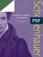 A Arte De Conhecer A Si Mesmo Arthur Schopenhauer