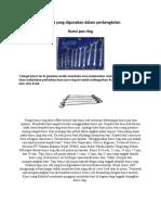 Alat alat yang digunakan dalam perbengkelan