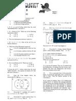worksheet3 sets
