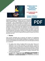 PRIMERA FASE DEL PROGRAMA ANTICORRUPCIÓN EMPRESARIAL