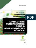 MARKETING- FUNDAMENTOS PARA A ADMINISTRAÇÃO PÚBLICA - TAVARES (2014).pdf