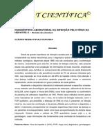 DIAGNÓSTICO LABORATORIAL DA INFECÇÃO PELO VÍRUS DA