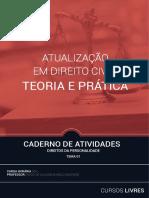 TEMA 01 - Atualização em Direito Civil (caderno de atividades)