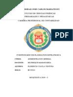Administracion General Proceso Organizacional