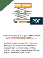 manejo de plataformas elevadoras moviles.pptx