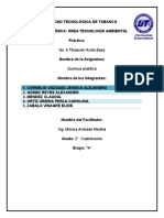 practica de analitica titulacion acido base