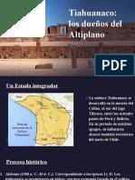 CC SS 1° - LECCIÓN 18 - Tiahuanaco los dueños del Altiplano.pptx