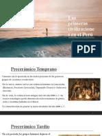 CC SS 1° - LECCIÓN 11 - Las primeras civilizaciones en el Perú.pptx