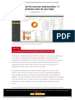 Comparativa ERP 2019. Planificación de recursos empresariales mejores ERPs