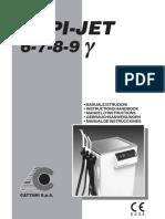 Cattani Aspi-Jet 6-9 Dental Aspirator - Service manual