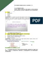 Preguntas de Farmacologia - Bloque I y II