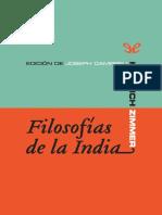 Zimmer, Heinrich - Filosofias de la India [50041] (r1.0)