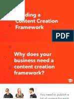 LESSON Building a Content Creation Framework DECK