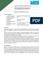 Silabo-Programacion de obras 2020 - I