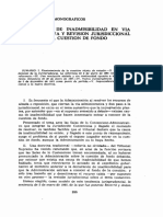 Declaración de inadmisibilidad en la administrativa-Antonio Cano