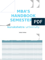 MBA 2nd Semester Syllabus by Garima Gautam