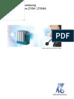 Kavo Quattro - Bedienungsanleitung.pdf