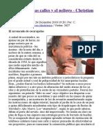 [Argentina] Las calles y el peligro - Christian Ferrer - Portal Libertario OACA.pdf