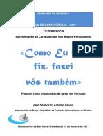 Carta Pastoral Dos Bispos de Portugal