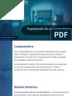 Clase 1 - Organización de una computadora 2020