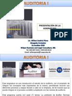 0-Presentación de la Asignatura Auditoria I Sabado 2020