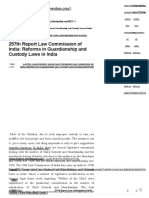 257th Report Law Commission of India_ Reforms in Guardianship and Custody Laws in India – Law Gupshup