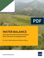 Water Balance Pakistan