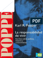 Karl R Popper. La responsabilidad de vivir (r1.0)