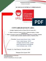 Tarea N.1 Investigacion basada en el Manual Unico de Cuentas (MUC)  - Definicion de concetos de la cuentas de Activos y Pasivos