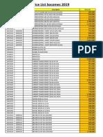 Price List Socomec 2019