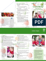 crunch sip - information for parents and educators