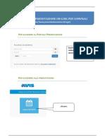 Guida per la Prenotazione on-Line