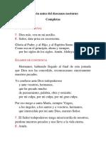 COMPLETAS - SÁBADO II PASCUA