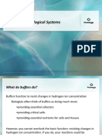 Buffers for Biological Systems