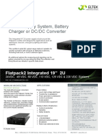 Power Supply System, Battery