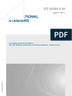 IEC 60364-5-56-2018