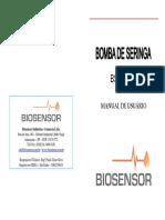 Bomba de Seringa BSS 200 Biosensor