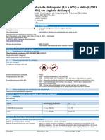 99 - Mistura de Hidrogênio - FISPQ