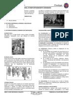 SESION N° 02 FACTORES DEL COMPORTAMIENTO HUMANO  4° SEC