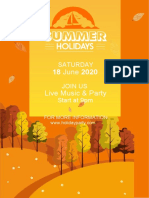 Summer Holiday Poster-WPS Office