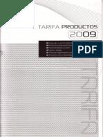 FANOX TARIFA 2009